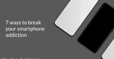 7 ways to break your smartphone addiction