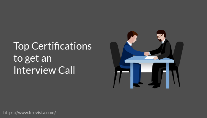 Top Certifications to get an Interview Call