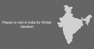 Places to visit in India for Winter Vacation