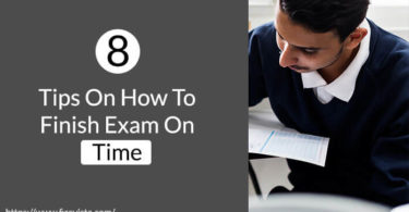 Tips On How to Finish Exam On Time