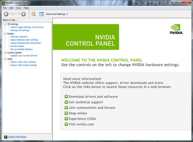 Unhide your NVIDIA Control Panel