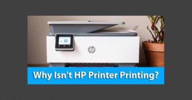 Why Isn't HP Printer Printing