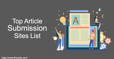 Top Article Submission Sites List