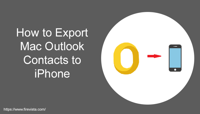 export Mac Outlook contacts to iPhone