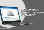 Save Gmail emails to a hard drive