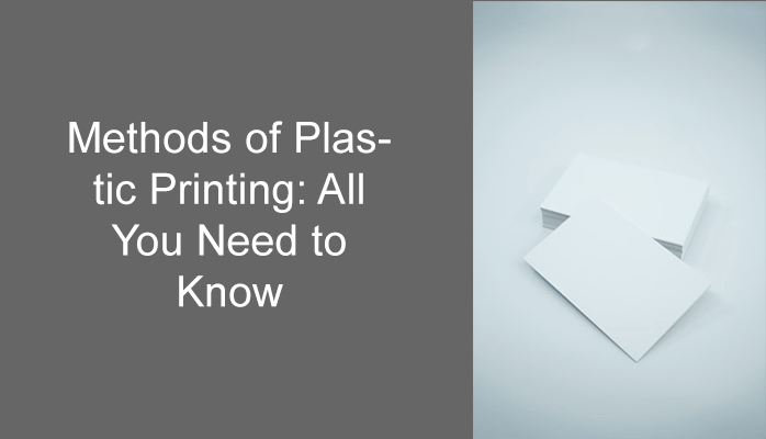 Printing onto plastic materials permits organizations to make various novel and marked materials, from envelopes and ring covers to pens and signage. Today, we will discover the methods of plastic printing.