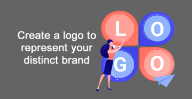 Create a logo to represent your distinct brand