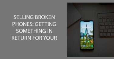 Selling Broken phones: Getting something in return for your trash